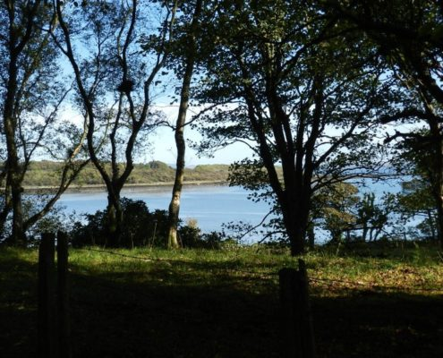 Garlieston Bay from Park Cottage