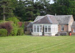 Lawn at Pavilion Cottage