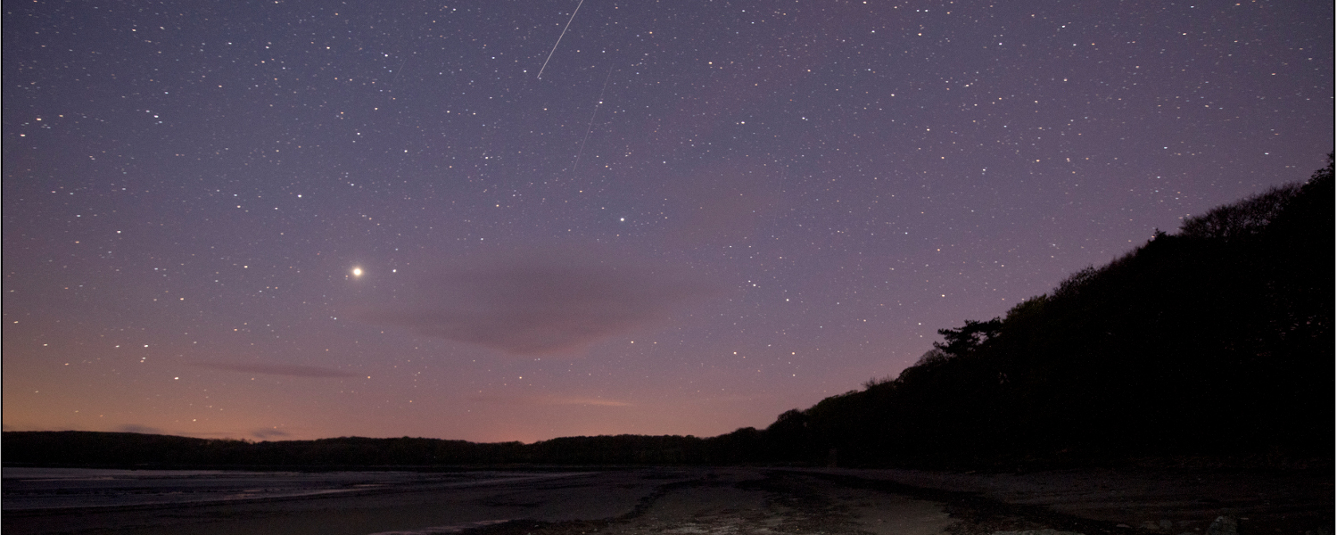 Stars over Rigg Bay